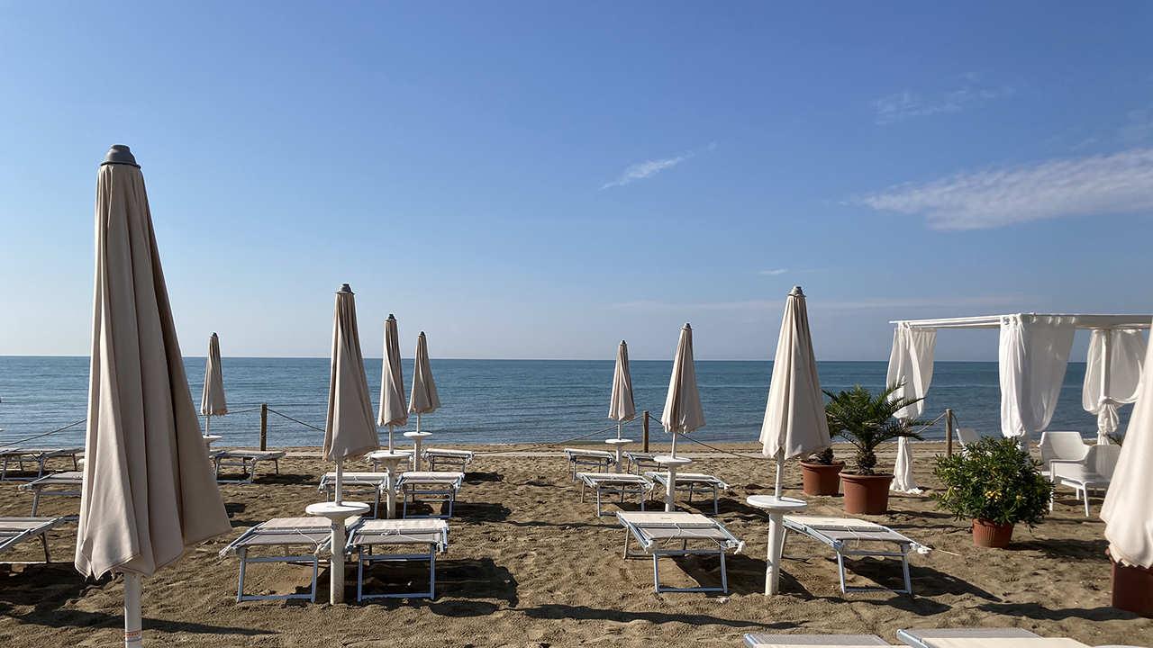 jesolo camping parco capraro spiaggia