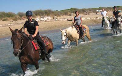 cosa fare a jesolo attività passeggiate a cavallo