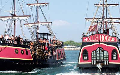 attività cosa fare jesolo nave pirati