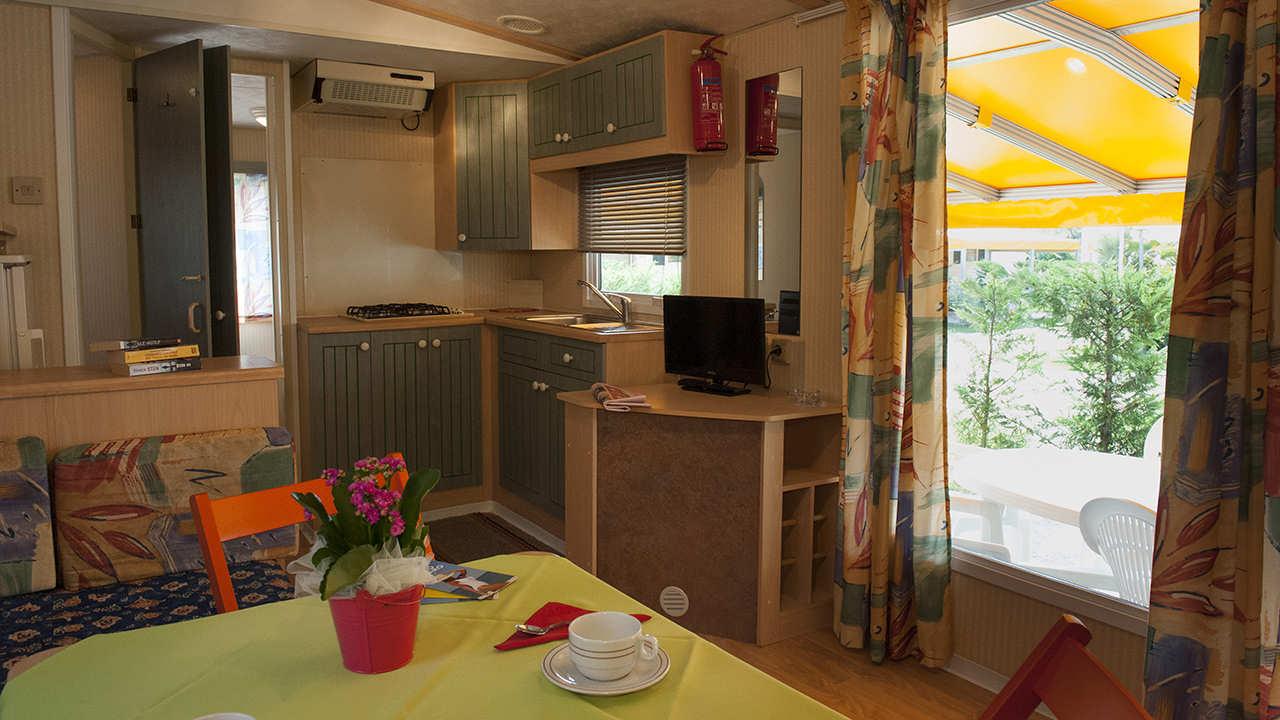mobile home oasi angolo cottura