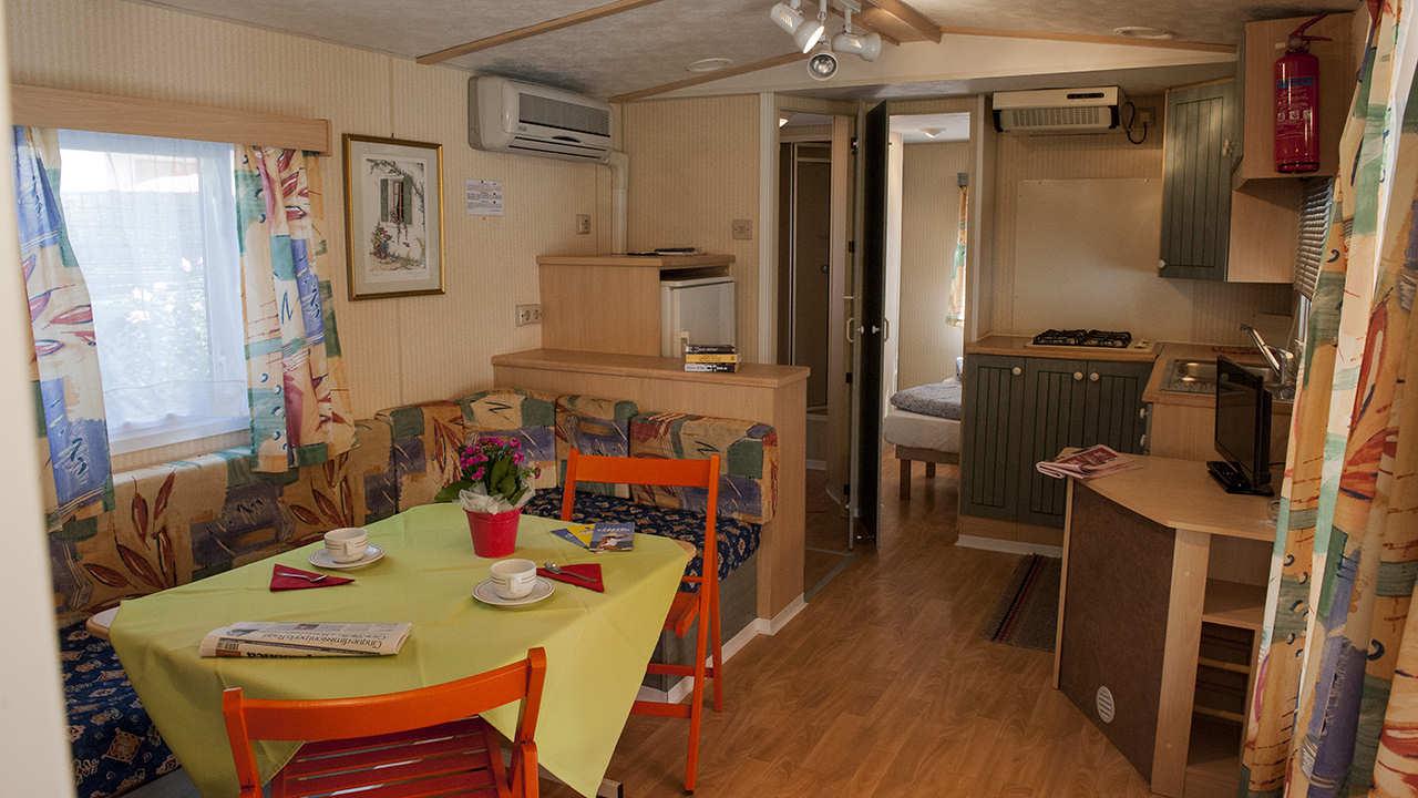 mobile home oasi soggiorno