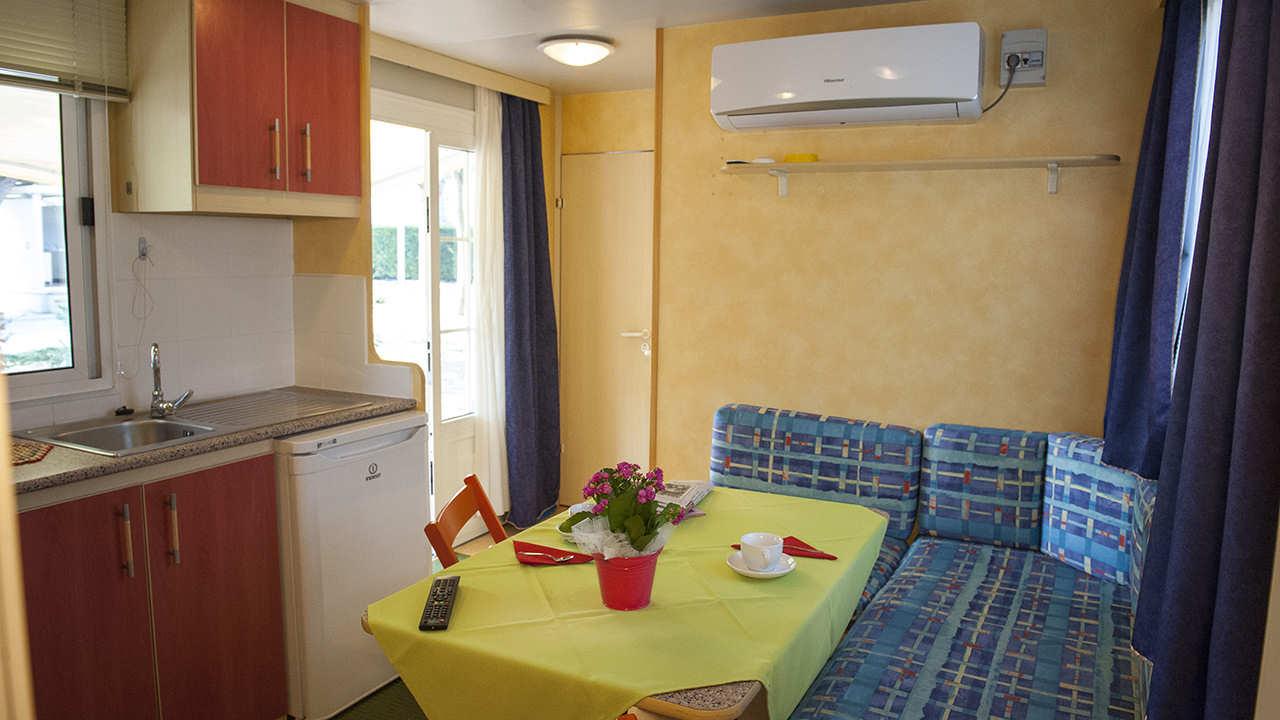 mobile home Sole soggiorno