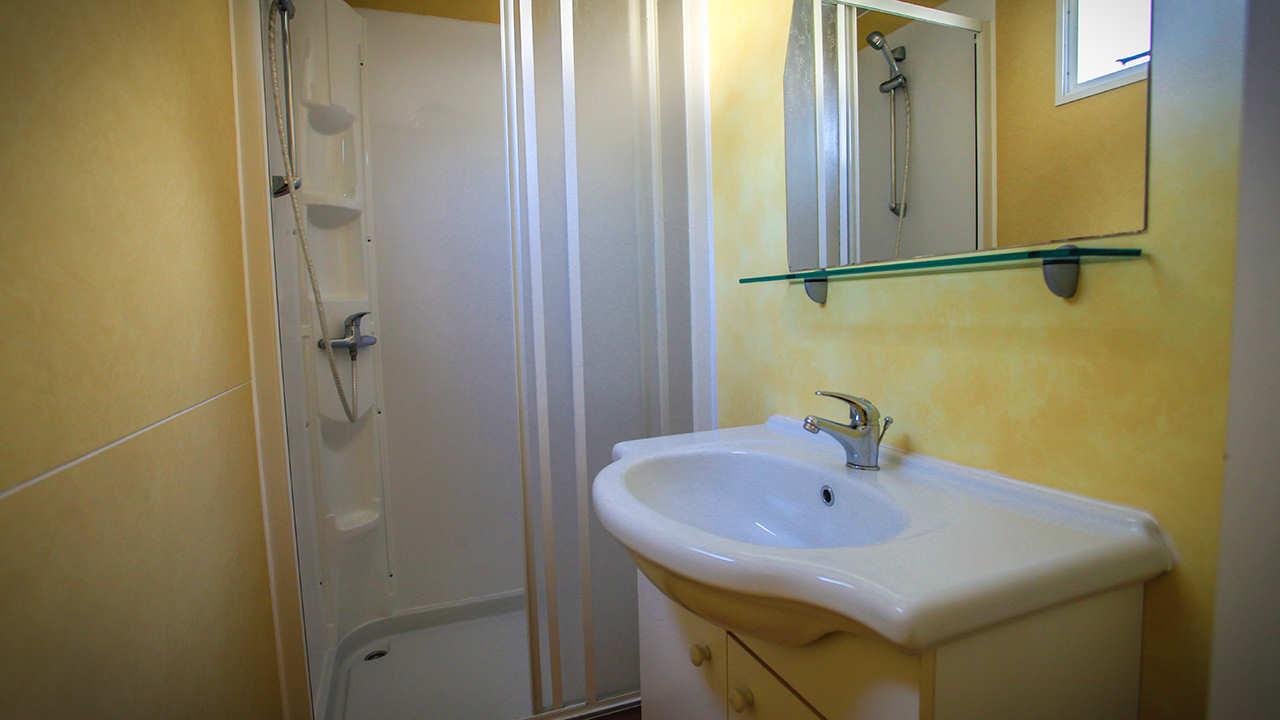 mobile home Sole bagno