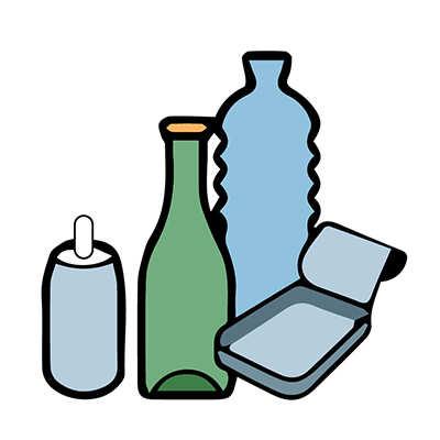 raccolta differenziata vetro